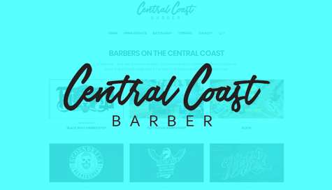 Central Coast Barber by Griggworks